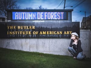Autumn de Forest Solo Show at the Butler Institute of American Art