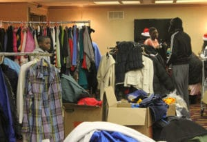 Clothes Donated for Foster Youth Park West Gallery