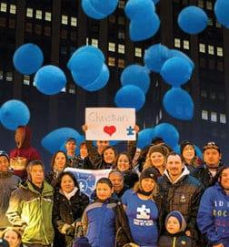 Light It Up Blue Autism Awareness