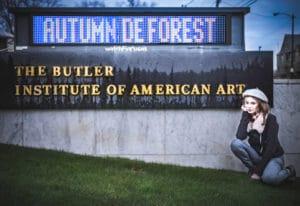 Autumn de Forest Butler Institute Solo Show