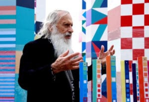 Yaacov Agam at Museum of Geometric and MADI Art